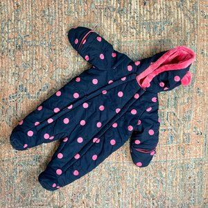 George Baby Snowsuit | 0-3m